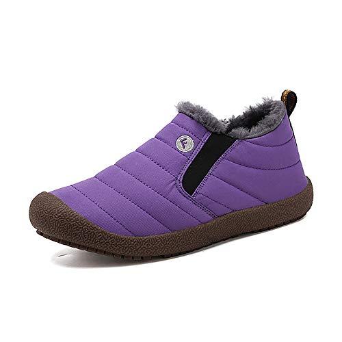 Dameslaarsjes eenkleurig wol binnenmateriaal warm vlakke hak laarzen rubber zool katoen enkellaarsjes comfortabel scheurvast duurzaam