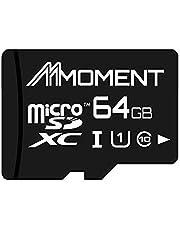 Save on 【Amazon.co.jp 限定】モーメント(Moment) microSDXCカード 64GB Class10 UHS-I対応 (U1) 最大読出速度85MB/s 永久保証 and more