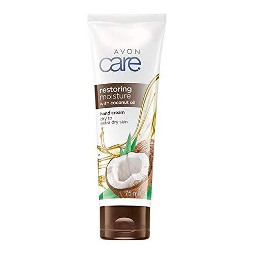 2 x Avon Care Restoring Moisture Hand Cream with Coconut Oil
