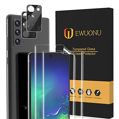 [2+2 Pack] Soft TPU Screen Protector for...