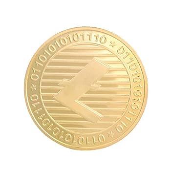DFCYCCFL Gold-Plated Physical Bitcoin Gold-Plated Bitcoin Collector Coin Art Collection Gift Physical Souvenir Casascius Bit BTC-C_