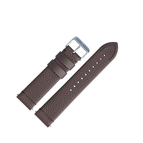 Victorinox Uhrenarmband 21mm Leder Braun - Uhrband Set 005311