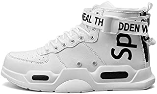 Ahico Mens Fashion Sneaker Walking Running Shoes Stylish Athletic Lightweight Breathable Comfortable Sport