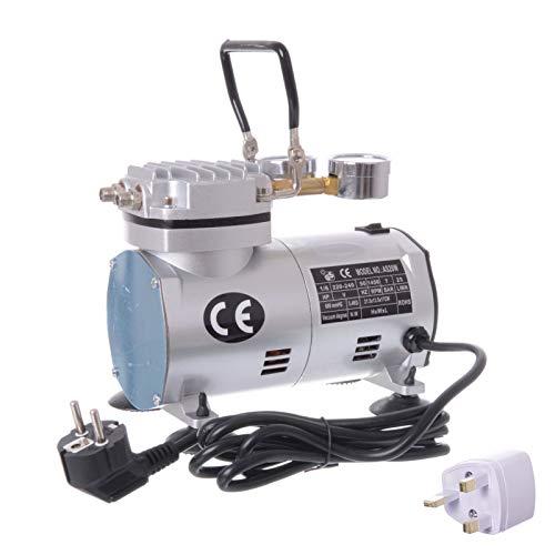 2in1 Vakuumpumpe Unterdruckpumpe Messuhr Kompressor Klimaanlagen Pumpe