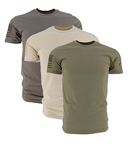 Grunt Style Ghost Pack 3-Pack Men's T-Shirts, Size Medium