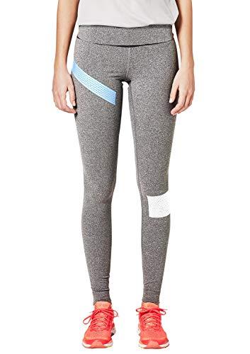 s.Oliver ACTIVE Damen 2H.802.75.5975 Sporthose, Grau (Grey/Black Melange 98w0), 38 (Herstellergröße: M)