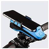 LXLTLB Luz Delantera de Bicicleta Luz Delantera Bicicleta USB Recargable Altavoz con Conexión Bluetooth, Altavoz-Bicicleta Ciclismo Luces Bicicleta Impermeable Light,Azul