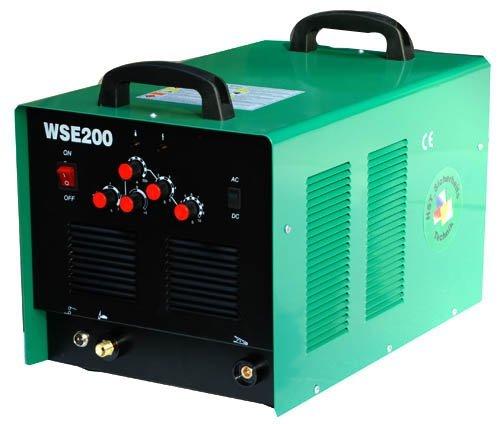 Preisvergleich Produktbild HST Alu Metall Schweißgerät WSE 200 Amp WIG TIG AC DC Inverter HFZünd Schweissgerät