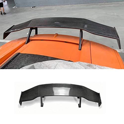 LYXDZW Fibra di Carbonio Fibra di Carbonio Spoiler Carbonio Spoiler Posteriore GT Spoiler Alettone del Tronco Fit for Lamborghini Gallardo Rear Spoiler Wings LP550 LP550 LP560 2004-13 FF