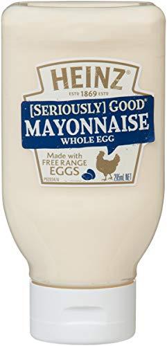 Heinz Seriously Good Original Whole Egg Mayonnaise, 295ml