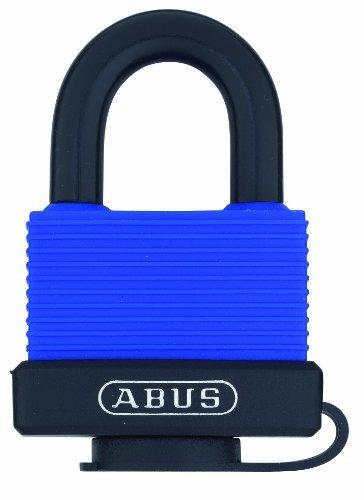 ABUS 70IB/45KD blau alle Wetter massivem Messing Körper mit Wetterschutz und stainessless Stahlbügel eingegeben verschiedenen Vorhängeschloss von ABUS