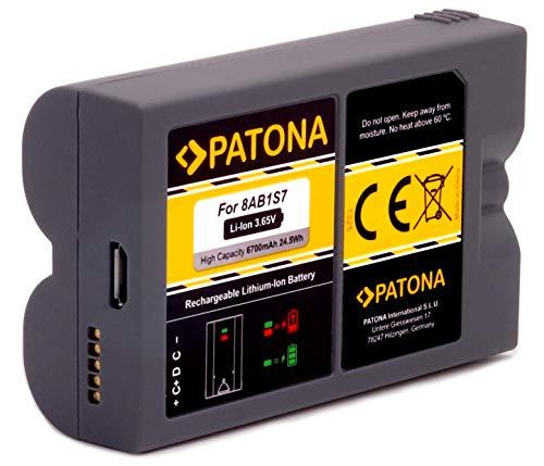 PATONA Ersatz für Akku Batterie Ring 8AB1S7-0EU0 - GEN 2 - Video Spotlight Cam und Doorbell 2