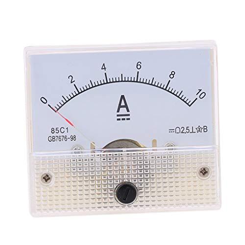 Demino DC analogico Amperometro Pannello 10A AMP Gauge Tester Corrente Meccanici Pointer Amperometri 85C1