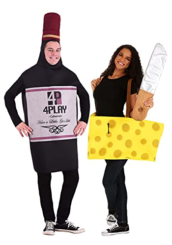 Cheap and funny wine and cheese costume