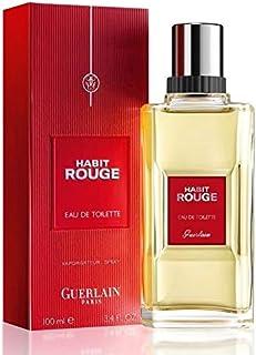 Guerlain Habit Rouge - For Men - Eau De Toilette - 100 Ml