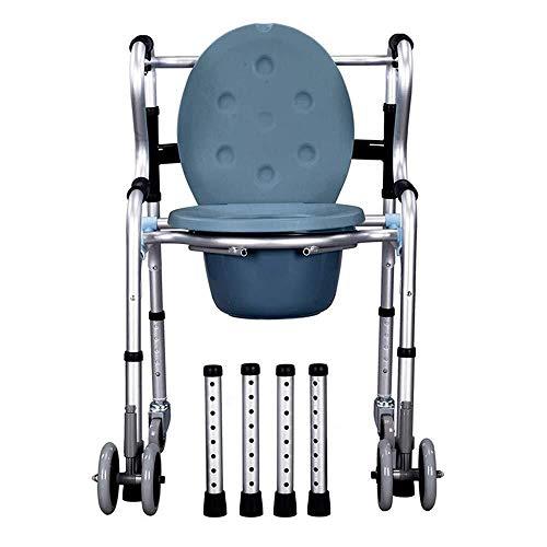 Andador para Ancianos Walker, Inodoro de Commode, Asiento for adultos duradero y...