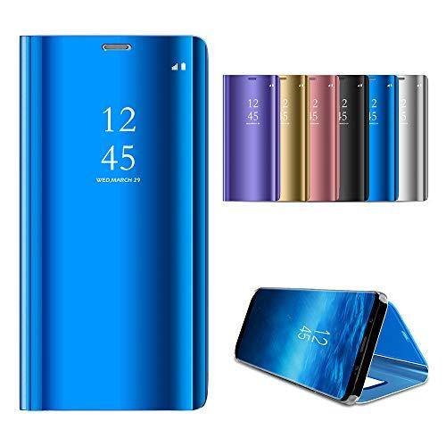 Tasche Hülle für Oppo R9 Plus R9 Pro F3 Plus, PU Leder Slim Brieftasche Handy Schutzhülle Magnetverschluss[Stoßfest][Ständer] Klapphülle Bumper Flip Hülle für Oppo R9 Plus R9 Pro F3 Plus,Blau