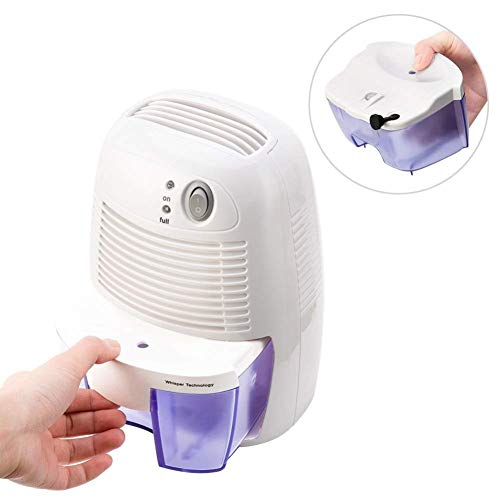 Buy Discount LSYOA Semiconductor Electric Dehumidifier, Portable Compact Ultra Quiet Mini Auto Shut ...