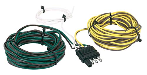 Hopkins 48265 30' 4 Wire Flat Trailer Side Y-Harness Connector