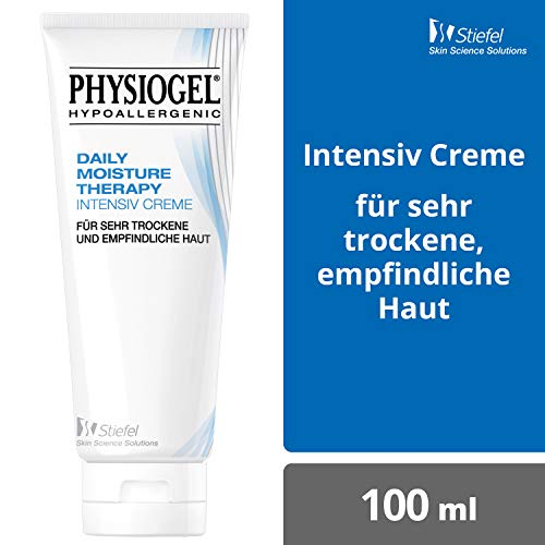 PHYSIOGEL Daily Moisture Therapy Intensiv Creme, hypoallergen - Lindert sehr trockene Haut, 100 ml