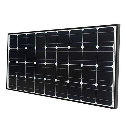 Panel Solar Cargador De Batería De Panel Solar De Silicio Monocristalino De 18 V para Casa Rodante De Caravana De Barco - 75 W PlateadoCargador De Panel Solar Resistente A La Intemperie