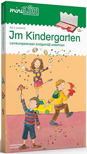 miniLÜK-Set: Im Kindergarten: Lernkompetenzen kindgemäß anbahnen: Kasten + Übungsheft/e / Kindergarten/Vorschule: Im Kindergarten (miniLÜK-Sets, Band 4)