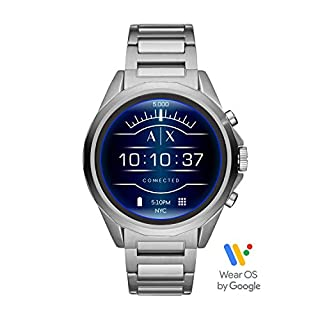 Armani Exchange Smartwatch Pantalla táctil para Hombre de Connected con Correa en Acero Inoxidable AXT2000 (B07FFKX7JC) | Amazon price tracker / tracking, Amazon price history charts, Amazon price watches, Amazon price drop alerts