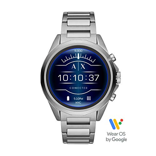 Armani Exchange Smartwatch Pantalla táctil para Hombre de Connected con Correa en Acero Inoxidable AXT2000