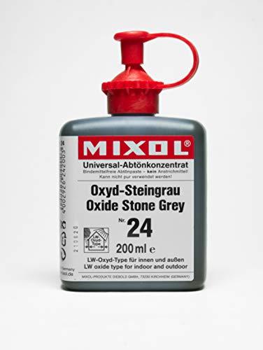 200ml MIXOL Universal-Abtönkonzentrat # 24 Oxyd-Steingrau