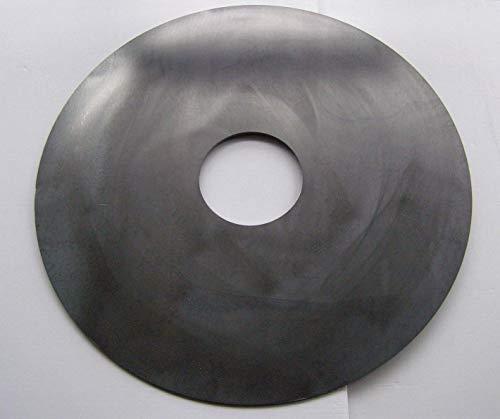 GPKS Auswahl Feuerplatte 60 cm / 80 cm Grillplatte Plancha 40 x 30 cm / 30 x 25 cm Feuertonne brat Koch (Feuerplatte 60 cm (mit Loch))