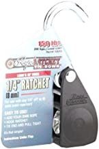 Rope Ratchet 10016 Ratcheting Tie Down Rope Hanger Pulley, 1/4