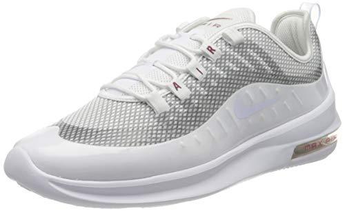 Nike Air MAX Axis Premium, Zapatillas de Trail Running para Mujer, Multicolor (White/White/Noble Red/Football Grey 102), 43 EU