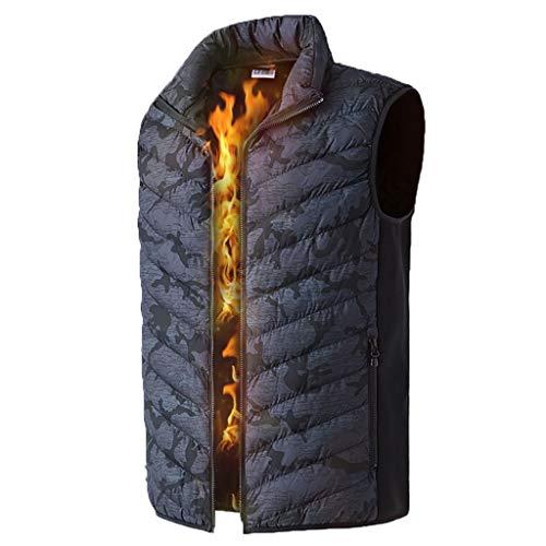 RHSMP Thermo-vest voor de winter, warm, camouflage, vissen, grote grootte