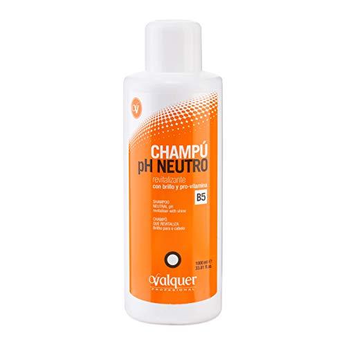 Valquer Champú Ph Neutro Revitalizante con Brillo y Pro-Vitamina B5 - 1000 ml