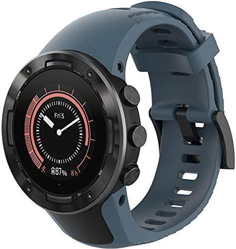 Gransho Correa de Reloj Reemplazo Compatible con Suunto 5, la Correa de Reloj Watch Band Accessorios (Pattern 1)