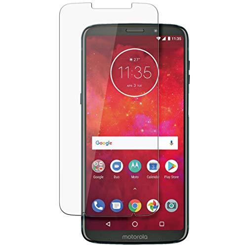disGuard Protecteur d'écran [Crystal-Clear] Compatible avec Motorola Moto Z3 Play [2 Pièces] Limpide, Transparent, Invisible, Extrêmement résistant, Anti-Empreinte Digitale - Film Protecteur