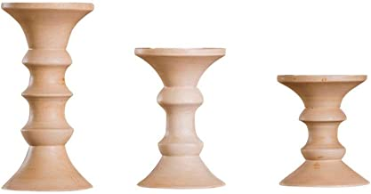 Candlestick Holders European-Style Luxury Classic Romantic Wedding Wooden Candlesticks Home Candlelight Dinner Candle Hold...