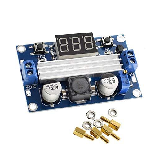 HiLetgo LTC1871 DC-DC Step Up Booster Voltage Regulator Converter DC 3-35V to DC 3.5-35V with LED Voltmeter DC-DC Step Up Module Power Supply Voltage Regulator