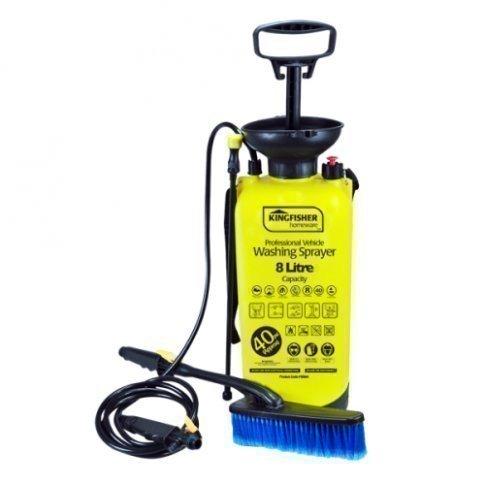 Druckreiniger/ Wassersprüher 8L Zum Fahrzeug Waschen Kompaktes Reinigungsset Für Zu Hause Garten Campen Segeln