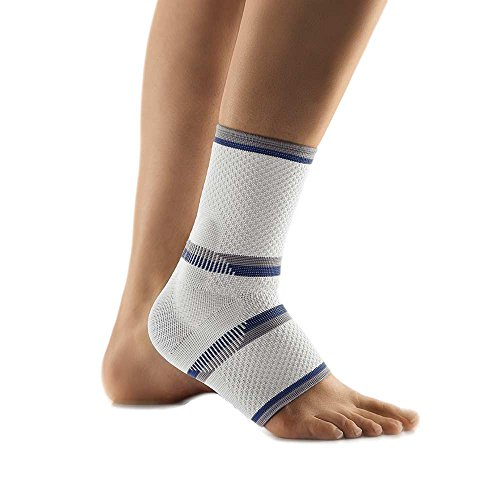 Bort TaloStabil® Eco Fuß Aktiv Sprunggelenk Bandage Stütze Kompression, silber, L