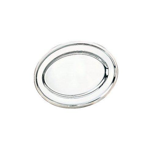 IBILI 710035 Plat Ovale, INOX, Argent, 35 cm
