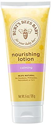 Burt's Bees Baby Nourishing Lotion, Calming Baby Lotion - 6 Ounce Tube by Burt's Bees