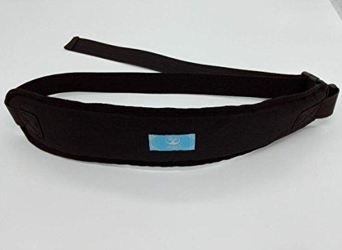 MEYLEE Multifunktionaler Verstellbarer Sicherheitsgurt Älterer Kinder Esszimmer Sessel Bett Rollstuhl Rückhaltungs Gurt, Black