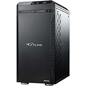 "mouse ゲーミング デスクトップパソコン G-Tune NM-S711SHR6SZI/Corei7 9700/2060Super/16GB/256GB/1TB/Win10"""