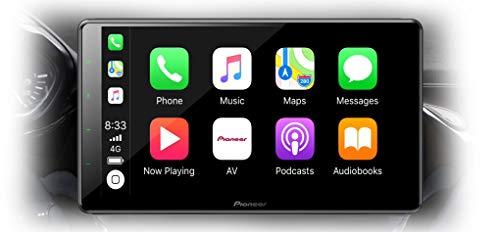 Pioneer SPH-EVO93DAB-208 (Tablet Style) 1DIN Modular 9'' Modular Mediacenter mit Dab+, Apple CarPlay, Android Auto, WiFi, HDMI, Bluetooth kompatibel mit Peugeot 208