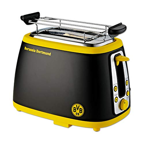 BVB Borussia Dortmund Toaster mit Logo & Sound ( BVB Kulthymne )