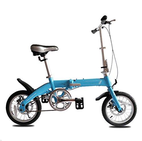 MASLEID 14 Pulgadas de niños y niñas Infantiles para Bicicletas Plegables aleación...
