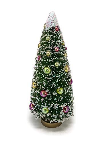 Darice Mini Christmas Tree with Snow & Beads: Sisal/PVC - 5 X 12'