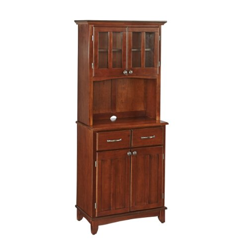 Big Sale Best Cheap Deals Home Styles 5001-0072-72 Buffet of Buffet 5001 Series Medium Cherry Wood Top Buffet Server and Hutch, Medium Cherry, 29-1/4-Inch