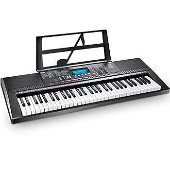 Electric Keyboard Piano 61-Key Ohuhu Musical Piano Keyboard with Headphone Jack USB Port & Teaching Modes for Beginners